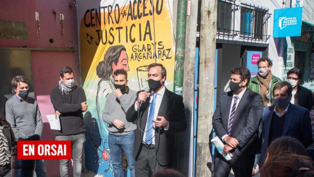 Martín Soria encabezó la reapertura de un Centro de Acceso a la Justicia que el Macrismo cerró en Villa 31