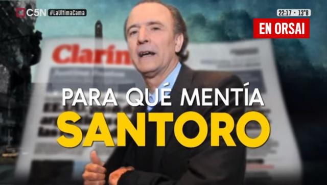 Para la Justicia, el periodista Daniel Santoro participó de un