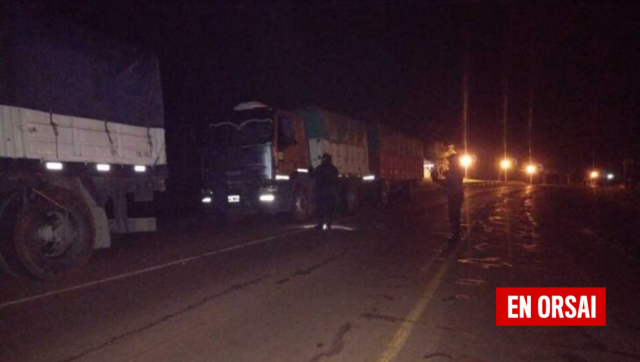 Misiones: La policía interceptó otros cuatro camiones cargados con soja ilegal