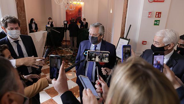 Fernández aseguró que la reunión con Georgieva fue