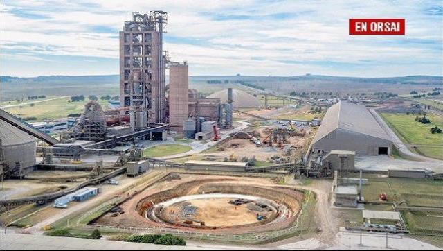 Loma Negra pone en marcha una planta que demandó 350 millones de dólares