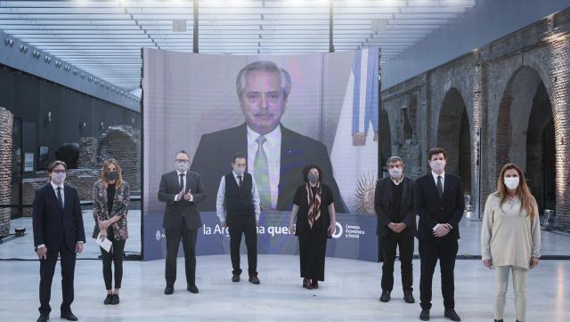 El presidente Fernández anunció que Argentina obtuvo US$75 millones de la CAF para fortalecer el Plan Estratégico de Vacunación