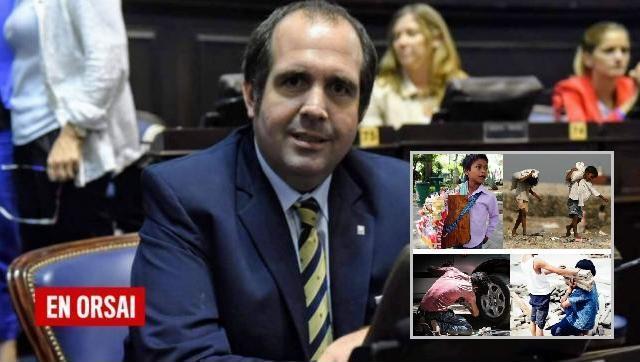 Diputado de JxC defiende la explotación infantil desde sus redes,