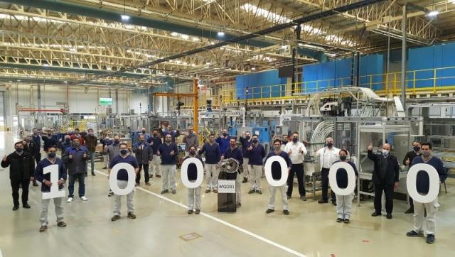 Volkswagen Argentina ya exportó 100.000 unidades de la transmisión MQ281 producida en la planta de Córdoba