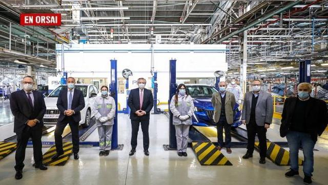 Peugeot proyecta multiplicar por seis la producción de vehículos en nuestro país