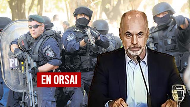 Denuncian a la policía de Larreta por robar a las personas en situación de calle