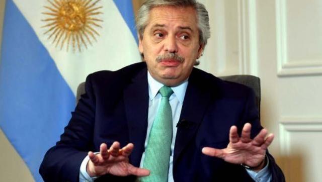 Alberto Fernández hoy: