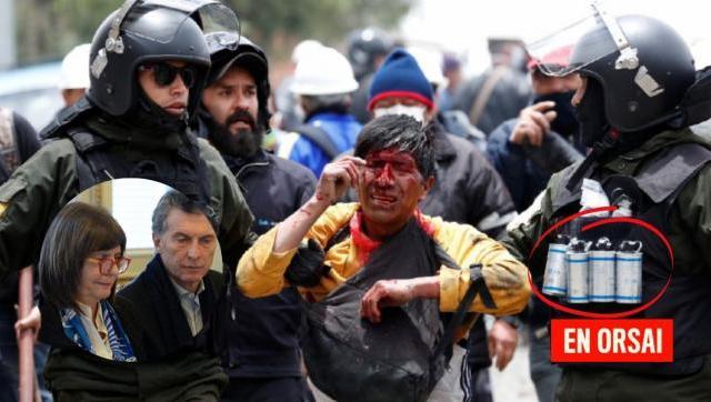 Se confirmó la muerte de dos personas producto de las municiones entregadas por Mauricio Macri a los golpistas bolivianos