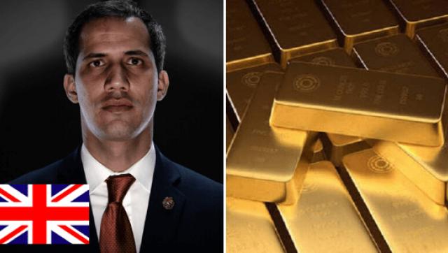 """Los ingleses de la mano de Guaidó intentan robar """"legalmente"""" el oro a Venezuela"""