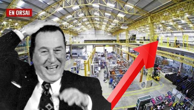 La industria creció 8,2% en junio y el despegue es innegable