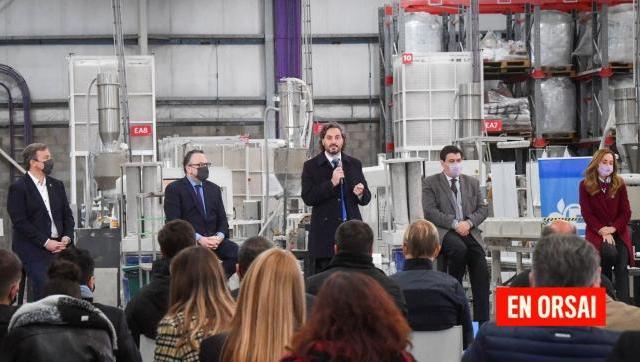 """Cafiero: """"Estamos generando nuevas herramientas para que las juventudes tengan una oportunidad de trabajo"""""""