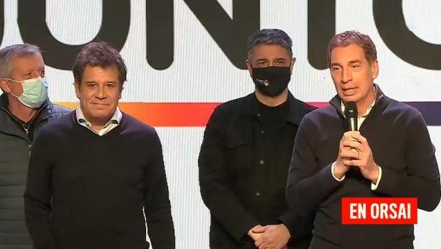 En tono apagado Diego Santilli no dio ningún pronóstico de la elección bonaerense