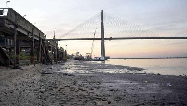 Bajante del Río Paraná: declaran la emergencia hídrica en la provincia de Buenos Aires