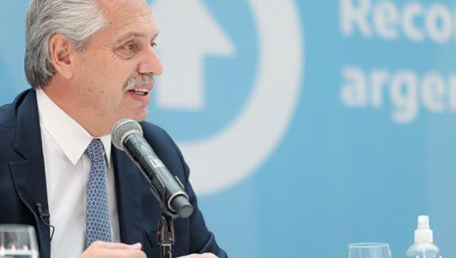 Alberto Fernández presenta el proyecto de ley de promoción de inversiones hidrocarburíferas