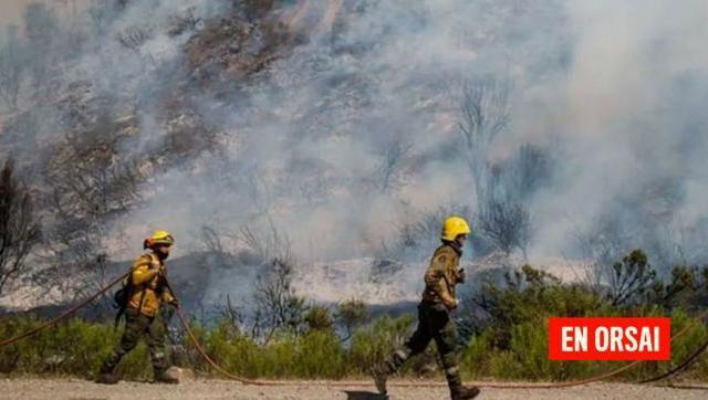 Se reconoció el trabajo del Ejército por el combate a los incendios forestales en la Comarca Andina