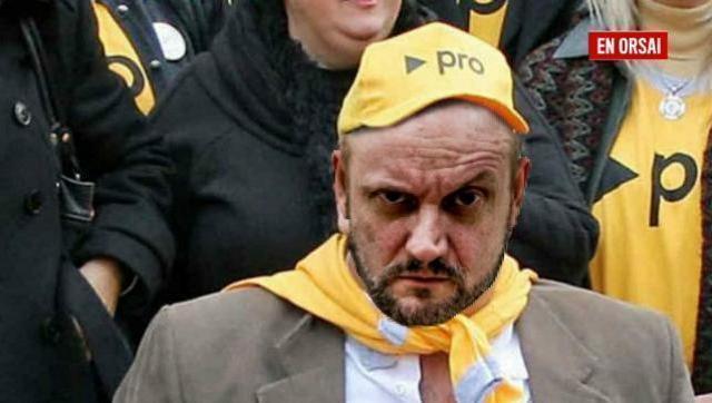 El Ultra Macrista Campanella se mandó un nuevo papelón en las redes