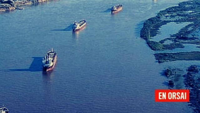 Hidrovía: el Gobierno controla la Vía Navegable Troncal (VNT) y cobra