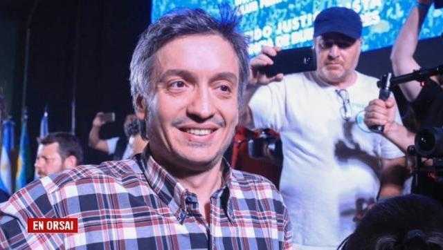 Máximo Kirchner habló sobre el resultado de las PASO y la interna del FdT con Verbitsky