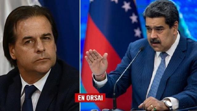 Tenso cruce entre Lacalle Pou y Nicolás Maduro