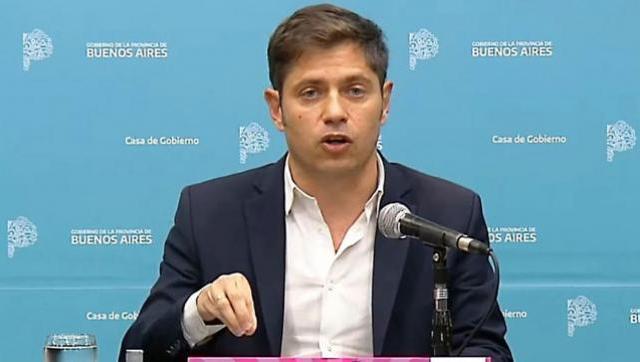 Kicillof habló sobre los cambios de hoy en el equipo de gabinete de la Provincia