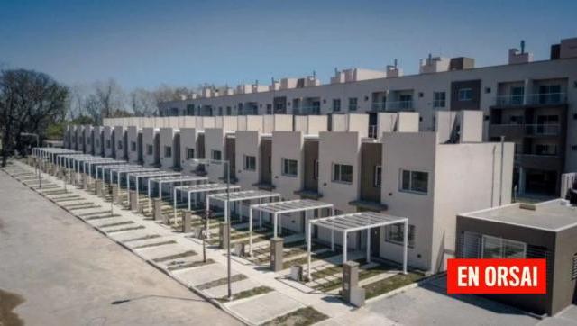 Se entregaron créditos hipotecarios en San Martín