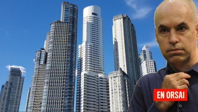 Larreta logró cambios en convenios urbanísticos para levantar once nuevas torres en CABA