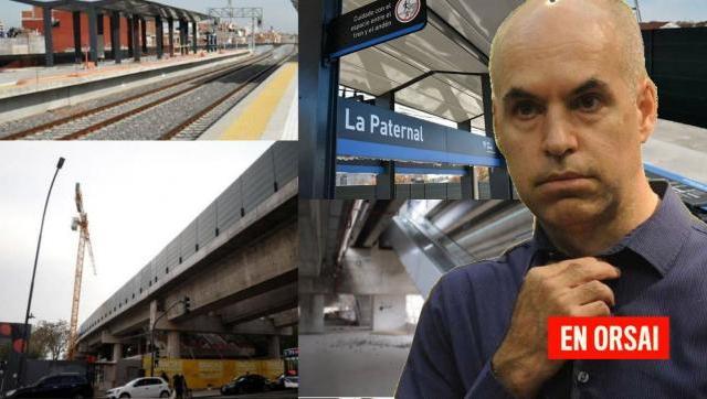 Vecinos y usuarios reclaman a Larreta por las estaciones de La Paternal y Villa Crespo