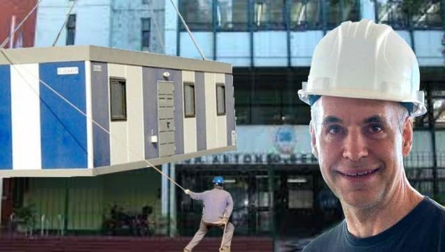 Larreta continúa adjudicando licitaciones para la reconstrucción de aulas containers