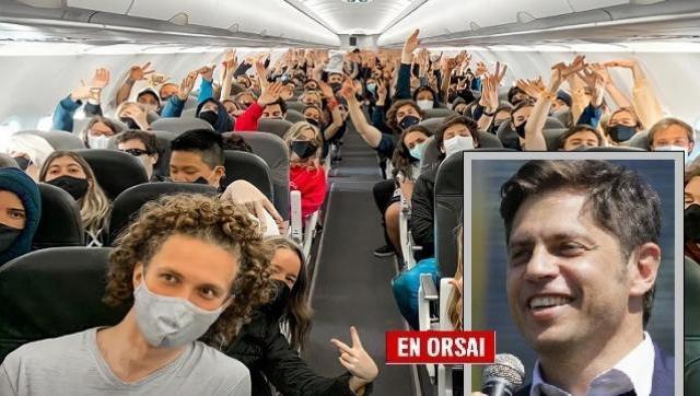 Kicillof cruzó a la oposición por cuestionar los viajes de egresados gratuitos