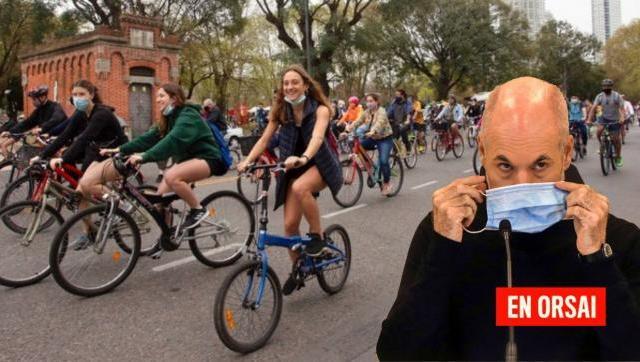 Larreta se gastó un millón de pesos en una bicicleteada para 500 personas en Puerto Madero