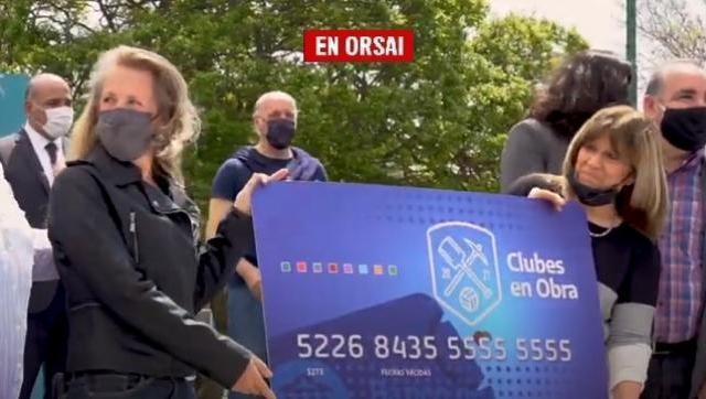 Manzur y Lammens entregaron subsidios a clubes deportivos de la Ciudad de Buenos Aires