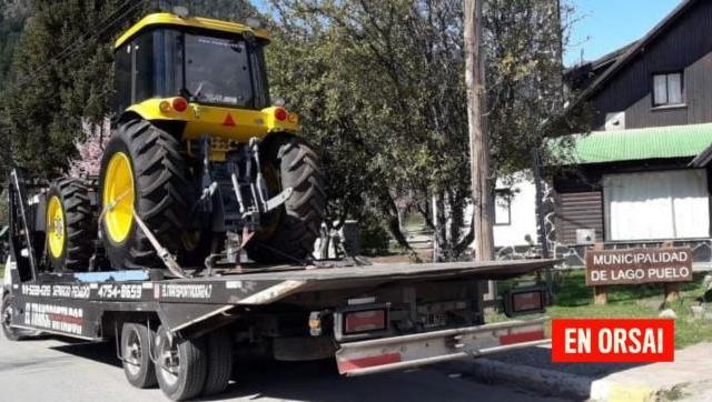 En la Comarca Andina fue entregada maquinaria para combatir y prevenir incendios forestales