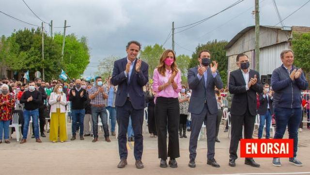 Florencio Varela: Katopodis inauguró la Av. Juana Azurduy totalmente pavimentada