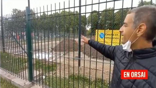 Larreta quiere terminar con la cancha de fútbol del Parque Centenario