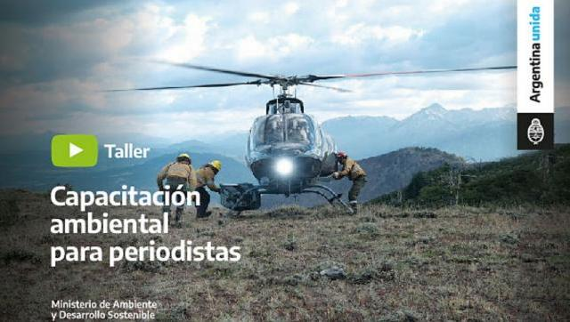 Capacitación Ambiental para Periodistas: Incendios forestales y manejo del fuego