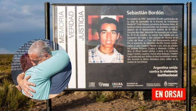 Se inauguró una señalización en memoria de Sebastián Bordón