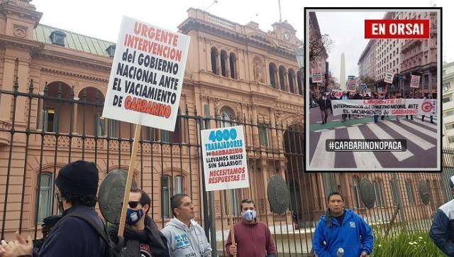 Alberto Fernández recibió a trabajadores de Garbarino y se comprometió a ayudarlos