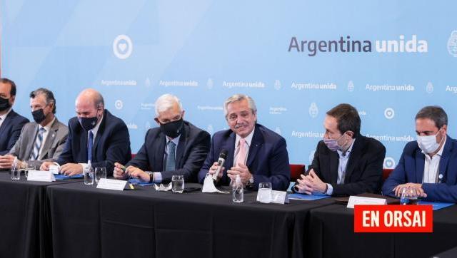 """Alberto Fernández: """"Es el momento de estar sentados todos juntos en la misma mesa"""""""