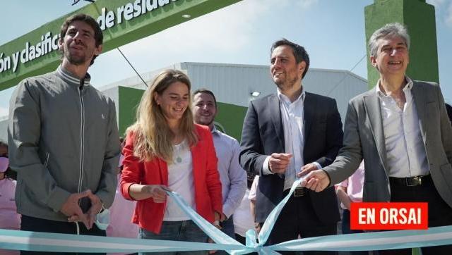 Cabandié participó de la inauguración de una planta de separación y clasificación de residuos en San Fernando