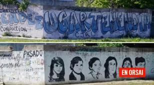 En Morón Juntos por el Cambio tapó un mural en homenaje a víctimas de la Noche de los Lápices